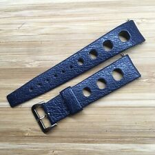 Vintage Genuine TROPIC Sport Genuine Rubber Watch Strap. 19mm Straight Ends. NOS