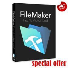 FileMaker Pro 18 Advanced✔ Full Versio 🔥 Win/MAC OS🔥 Lifetime License Key ✅✅