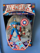 Avengers United They Stand  Captain America Figure ToyBiz 1999 Marvel Legends