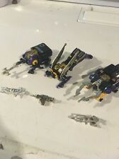 Transformers G1 Vintage 80s Lot Of 3 Insecticons Kickback Shrapnel Bombshell
