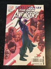 """The New Avengers#47 Incredible Condition 9.4(2009)Billy Tan Art""""Secret Invasion"""""""
