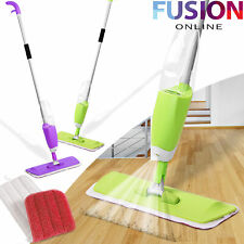 Spray Mop Water Spraying Floor Cleaner Tiles Microfibre Marble Kitchen 700ml