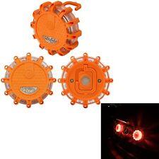 3X Magnetic Base Flashing Warning Roadside Emergency Disc LED Flare