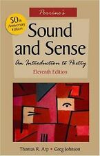 Sound and Sense : An Introduction to Poetry, 11/E 11th Edition  9780838407462