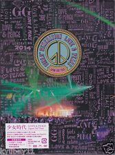 New SNSD GIRLS' GENERATION LOVE & PEACE Japan 3rd Tour Limited 2 DVD Photobook