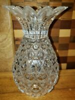 Pair Of Crystal Pineapple Candle Holders  Shannon Collections 24% Lead Crystal
