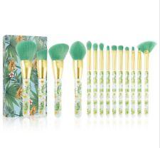 Tropical Makeup Brushes Docolor 14Pieces Professional Makeup Brushes Set Premium