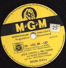 Leslie Caron + Mel Ferrer - Hans Sommer : Hi - Lili, Hi - Lo  +  Adoration