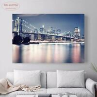 3D Landscape Canvas Painting Poster New York Art Print Wall Pictures Home Decor