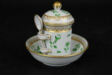 Vintage Perfect and Rare handpainted Sevres mustard pot.