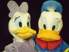 Donald Duck & Daisy Duck Disney Store Exclusive Plush Big Stuffed Animal