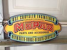 Mopar Chysler Dodge18 X 9 Metal Tin Sign Man Cave Garage Parts
