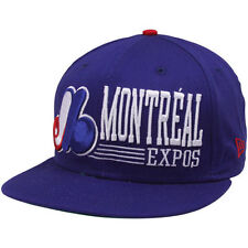 MLB Montreal Expos Hat Snapback Retro Cap Blue New Era 9Fifty 950 Vintage
