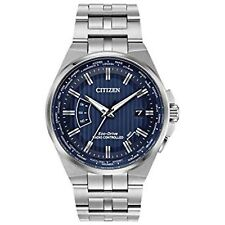 Citizen CB0160-51L Men's World Perpetual A-T Blue Eco-Drive Watch