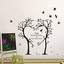 Removable Family Love Tree Wall Stickers Decals Art Kids Mural Home Decor Gifts