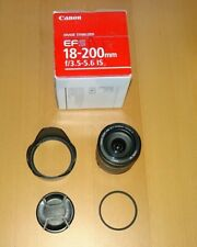 Canon EF-S 18-200mm F/3.5-5.6 IS Lens + Box & EXTRAS
