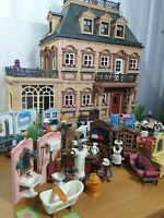 Playmobil 5300 Victorian Mansion Doll House Furniture Sant Figure Vintage Geobra
