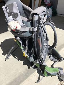 Deuter Kid Comfort Air - Hiking Backpack W/Child Carrier - Excellent