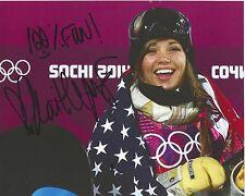 KAITLYN FARRINGTON Signed 8 x 10 photo USA Snowboarding Sochi Olympics FREE SHIP