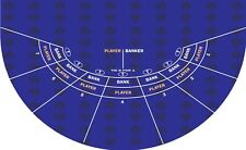 Mini Baccarat casino layout choice of 3 colors