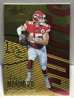 2018 Absolute Football Patrick Mahomes #49 2ND YEAR Kansas Chiefs MVP