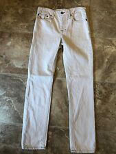 Boys Polo By Ralph Lauren Tan Jeans, Size 12
