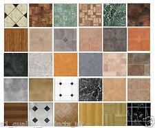 4 x Vinyl Floor Tiles - Self Adhesive - Bathroom / Kitchen Flooring,, BNIB stick