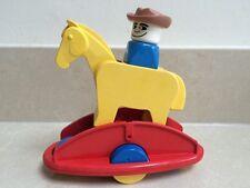 Vintage Lego Duplo Rock 'n' Rattle Rocking Horse  #2057 Rare