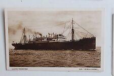 27347 cartolina nave LLOYD TRIESTINO MN Romolo-Remo PC steamper AK Schiff