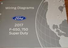 2017 Ford TRUCK F-650 F650 F750 F-750 Wiring Electrical Diagram Manual OEM