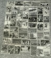 More details for berlin 1936 olympic games memorabilia small cigarette cards - 54 inc jesse owens
