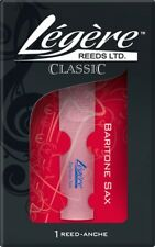 Legere Saxophone Reed Baritone Eb (E - Flat) 4.00 Standard Cut