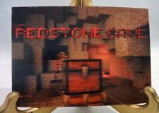 "Redstone Cave Art Lenticular Card Minecraft Mine Chest 4"" x 6"" New"