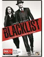 The Blacklist : Season 4 DVD : NEW