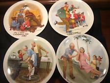 Vintage Joseph Csatari Collector Plates by Knowles - 4 Year Set 1980-1983