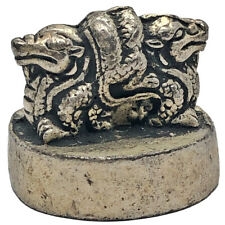 Antique Chinese Dragon Seal Or Stamp For Wax Emperors Dynasty Asian Signet Old