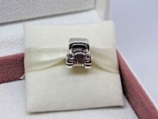 New w/Box Pandora Car RETIRED Sterling Silver Charm #790405CZ Jeep New Driver