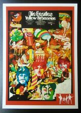 YELLOW SUBMARINE (2) - BEATLES RARITIES trade card - RED 'Movie Posters' series