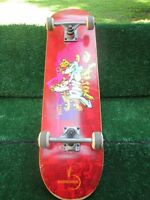 "Skate Bammboards Grind Trench Boogie Skateboard 31"" x 8"" Complete Used Good Cond"