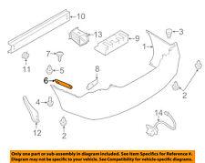 NISSAN OEM 12-18 Versa Rear Bumper-Side Bracket Left 852213BA0A