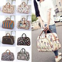 Ladies Travel Bag Holdall Hand Luggage Womens LARGE CAPACITY Weekend Handbag