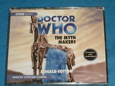 Doctor Who THE MYTH MAKERS BBC Audio CD Read By Stephen Thorne (1st Doctor Adv.)