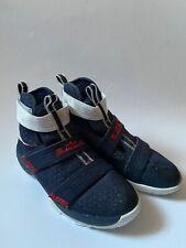 NIKE LEBRON Soldier 10 Olympic USA Sneaker Basketballschuhe Gr.39 UK 6 US 6.5