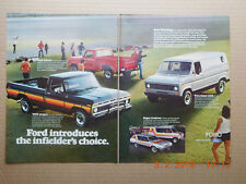 #67 FORD TRUCK AND VAN AD FRONT MAICO AW 250 ON BACK 1977