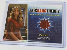 """2013 THE BIG BANG THEORY SEASON 5 AUTHENTIC WARDROBE """" PENNY """" M12"""