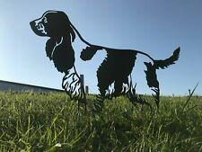 Cocker Spaniel Metal Dog Garden Art