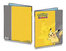 Pikachu Ultra Pro Pokemon Card Folder A4 9 Pocket Portfolio Binder Album