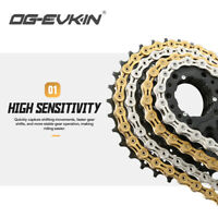 VG 8//9//10//11 Speed Gear Bicycle Chain Half-Hollow 116 Links MTB Road Bike Chains