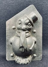 Moule à Chocolat ancien : Poussin habillé / Matfer 1930 / Chocolate Mold