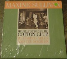 "Album By Maxine Sullivan, ""The Great Songs From The Cotton Club"" on Stash"